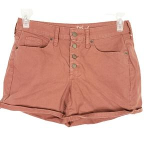 2/$20 Universal Thread Button Fly Roll Cuff Shorts